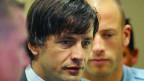 Naser Oric vor dem Jugoslawien-Tribunal in Den Haag.