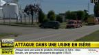Bei einem Angriff auf eine Gasfabrik ist ein Mensch getötet und mindestens ein weiterer verletzt worden. Die Umstände deuteten auf einen Anschlag von Islamisten hin.