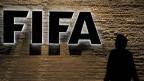 Logo beim Fifa-Hauptsitz in Zürich.