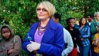 Helen Zille. Die Politikerin ist dem südafrikanischen Präsidenten Zuma ein Dorn im Auge.