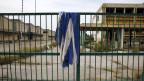 Für griechische Industriebetriebe sind besonders die Kapitalkontrollen schwierig. Stillgelegte Fabrik in Athen. Symbolbild.