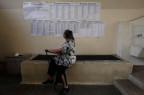 Abstimmungsbüro in Athen