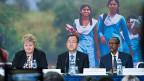 Generalsekretär Ban Ki-Moon hat am Montagabend in Oslo den Schlussbericht präsentiert. Die Zahl der Menschen, die in absoluter Armut leben, also mit weniger als 1.25 Dollar pro Tag, wurde seit 1990 halbiert.