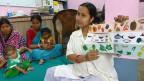 «Wollen wir weniger unterernährte Kinder, müssen wir Toiletten bauen, die Hygiene verbessern, Schwangere umsorgen und Kinder erziehen», sagt die Unicef-Verantwortliche für Entwicklungs- und Ernährungsprogramme in Indien.