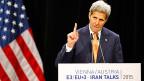 US-Aussenminister Kerry in Wien. In den USA muss das Atomabkommen mit Iran noch vor den Kongress. Und dort - das ist jetzt schon klar - wird es Kritik hageln.