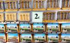 Ein Souveniershop in Athen reduziert seine Preise