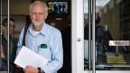 Jeremy Corbyn (Bild) sei zwar kaum mehrheitsfähig, aber er habe Prinzipien und Überzeugungen. Seine Rivalinnen und Rivalen hingegen wollten bloss gewinnen, egal womit, sagt Tony Blair.