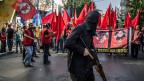 Nach dem Anschlag im türkischen Suruc mit 32 getöteten Menschen kam es zu heftigen Protesten.