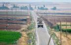 Patrouillen an der türkisch-syrischen Grenze
