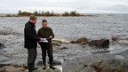 In der Region des finnischen Dorfes Pyhajöki, in dessen Nähe das neue AKW gebaut werden soll.