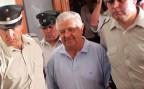 Manuel Contreras, als er 2005 vom Gerichtsgebäude in ein Gefängnis in Chile überführt wird