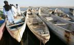Fischerboote in Nouadhibou, Mauretanien. Mit solchen Booten versuchten noch vor zehn Jahren Zehntausende auf die kanarischen Inseln zu flüchten
