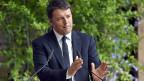 Genug mit den Weinerlichkeiten, wir müssen die Ärmel hochkrempeln und Süditalien aus der Armut holen, sagt der italienische Premier Matteo Renzi.