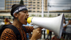 Am 7. August wehrten sich in der nepalesischen Hauptstadt Kathmandu auch die Frauen für ihre Rechte.