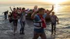 Zwischen Erleichterung und Hoffnung: Immer neue Flüchtlinge stranden auf Booten auf der griechischen Insel Kos.
