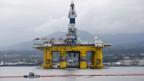 Bohranlage der Shell Oil Company.