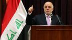 Iraks Premierminister Haider al-Abadi.