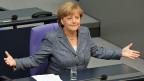 Angela Merkels Union hat sich gesträubt wie selten zuvor - doch des  Finanzministers Warnfinger hat Wirkung gezeigt.
