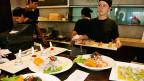 Eines von Gaston Acurios Restaurants, La Mar in der Hauptstadt Lima. Als Koch ist Acurio so begnadet wie als Selbstvermarkter, er hat mit 40 eigenen Restaurants rund um die Welt zum Millionär und zu Hause zu Berühmtheit gebracht.