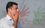 Kurden-Politiker Demirtas auf einer Friedensdemo