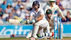 Der englische Cricketspieler Jos Buttler in Aktion - beim Spiel England gegen Australien am 22. Auugust.