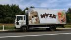 In diesem Lastwagen auf der A4, in der Nähe von Parndorf in Öserreich, sind mindestens 20 tote und zahlreiche weitere leblose Flüchtlinge gefunden worden.