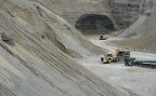 Kiesgrupe des Baustoffherstellers Holcim in Huentwangen