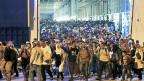 Die Internationalen Organisation für Migration schätzt, dass sich jeden Tag bis zu 2000 Flüchtlinge von Griechenland aus auf der sogenannten Balkanroute durch Mazedonien, Serbien und Ungarn begeben.