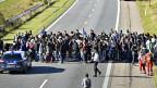 Die Flüchtlinge haben Nordeuropa erreicht - Dänemark ringt um den Umgang mit Durchreisenden.