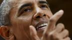 US-Präsident Obama spricht von einem «Triumph der Diplomatie», von einem «Sieg für die Sicherheit in der Welt».