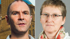 Philipp Scholkmann und Iren Meier.