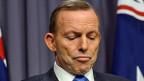 Vorhang zu: In Australien muss Regierungschef Tony Abbott zurücktreten.