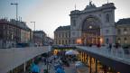 Der Ostbahnhof von Budapest: Die meisten Flüchtlinge sind weg, die Ratlosigkeit vieler Ungarinnen und Ungarn wird damit nicht kleiner.