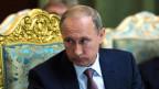 Russlands Präsident Wladimir Putin verteidigt vehement die militärische Unterstützung der syrischen Regierung.
