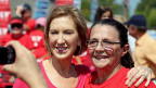 Carly Fiorina an einer Wahlveranstaltung, Anfang September in Milford, New Hampshire.