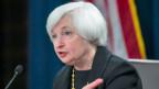 Die US-Notenbank-Chefin Janet Yellen. Die Bank hat ihren Leitzins auf dem Rekordtief zwischen null und 0,25 Prozent bestätigt.