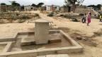 Der neue Wasserkiosk in einer illegalen Siedlung von Dodoma.
