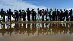 BNis zu einer Million Menschen könnten dieses Jahr versuchen, nach Europa zu gelangen.