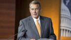 John Boehner, der Chef des Repräsentantenhauses, gibt seinen Posten Ende Oktober ab.