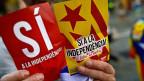 Niederlage im Sieg - die katalanischen Separatisten nach der Wahl.