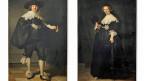 Die zwei sich streitenden Museen haben eine gütliche Lösung gefunden. Sie stellen die zwei Bilder im Wechsel aus; Rembrandts «Portrait von Marten Soolmans» und «Portrait von Oopjen Coppit», beide von 1634.
