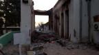 Das zerstörte Spital von Ärzte ohne Grenzen in Kundus, Afghanistan.