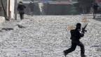 Heftige Zusammenstösse zwischen der israelischen Armee und Palästinensern in Ost-Jerusalem.