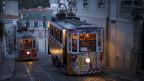 Wohin steuert Portugal? Die berühmte Strassenbahn von Lissabon.