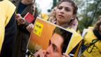 Ensaf Haidar, die Frau des inhaftierten saudiarabischen Bloggers Raif Badawi, kämpft für dessen Freilassung.