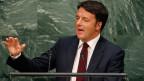 Premierminister Matteo Renzi.
