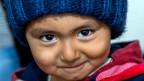 Mit Blick auf die Demografie, die alternde, schrumpfende Gesellschaft, seien die Flüchtlinge ein Riesenpotential. Bild: Amir (3) aus Afghanistan.
