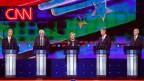 Gruppenbild mit Dame - Die erste TV-Debatte der Demokraten in den USA.