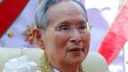Die Beleidigung seiner Majestät König Bhumibol wird in Thailand drakonisch bestraft.