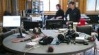 SRF-Radiostudio im Bundeshaus
